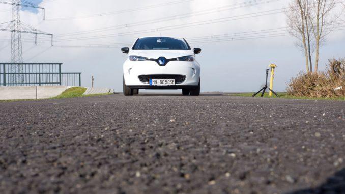 Renault Zoe Front