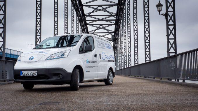 Der Nissan e-NV 200 im Test von 163 grad