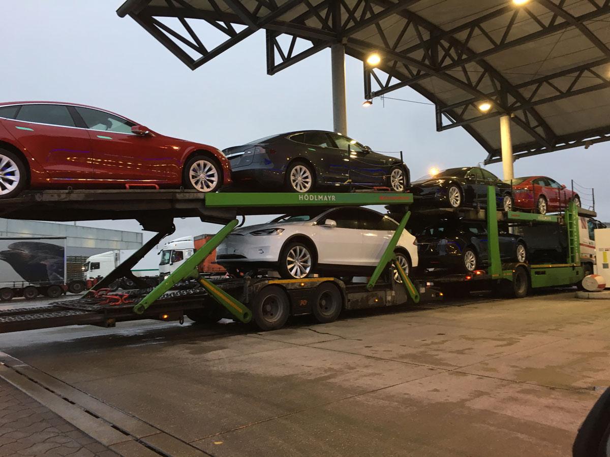 Neuzulassungen Elektroautos und Tesla Model S - 163 Grad