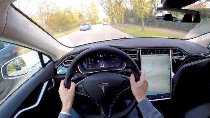 Tesla Model S POV