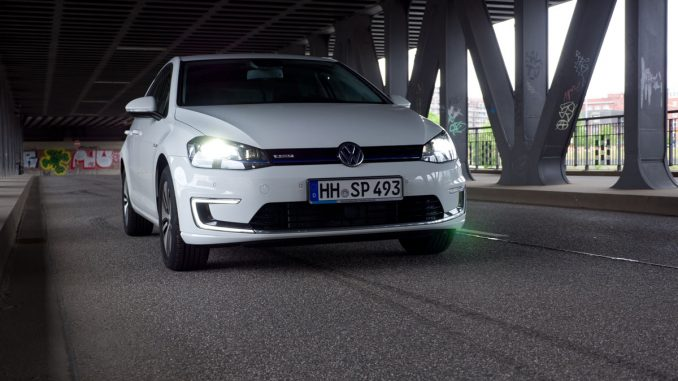 vw egolf test