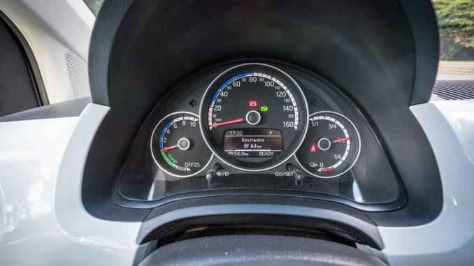 VW e-UP Reichweite