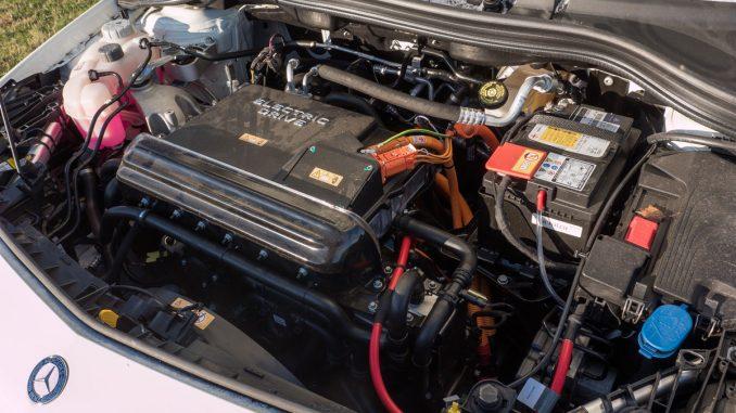 Inverter und elektrischer Antrieb B250e | Foto: 163 Grad