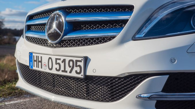 Mercedes B250e test