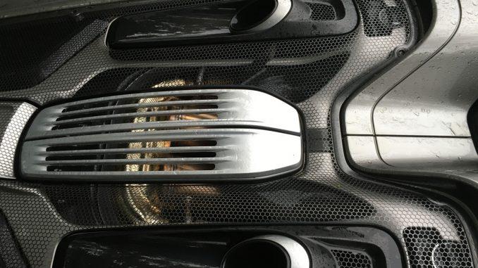 Porsche 918 Exhaust