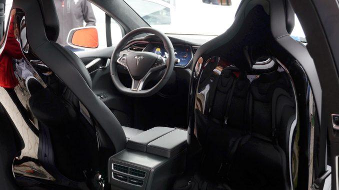 Tesla Model X Cockpit