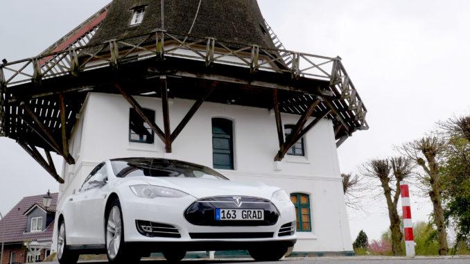 Tesla Model S gebraucht kaufen   Foto: 163 Grad