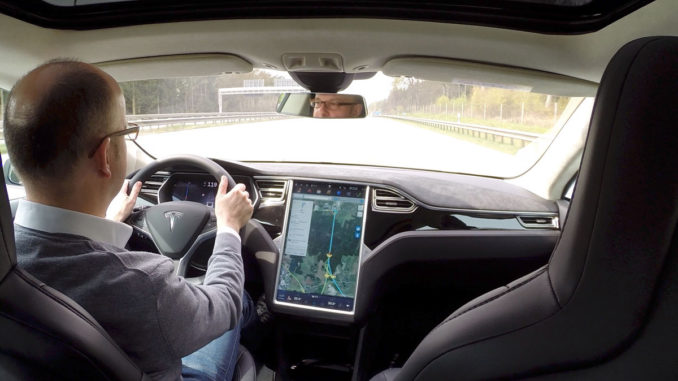 Probefahrt im Model S   Foto: 163 Grad