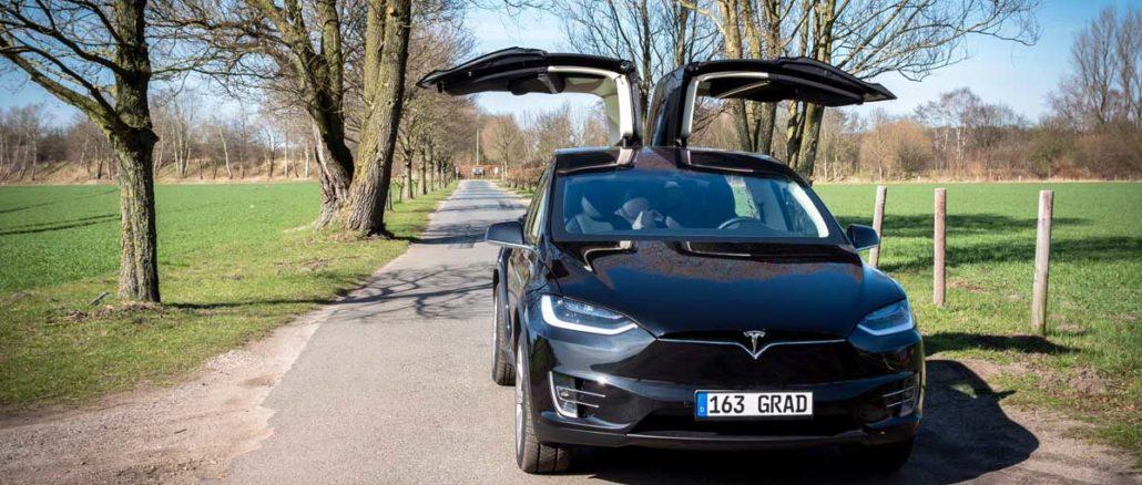 Tesla Model X P90D Ludicrous | Foto: 163 Grad