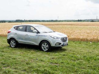 Hyundai ix35 FuelCell Wasserstoffauto im Test von 163 Grad