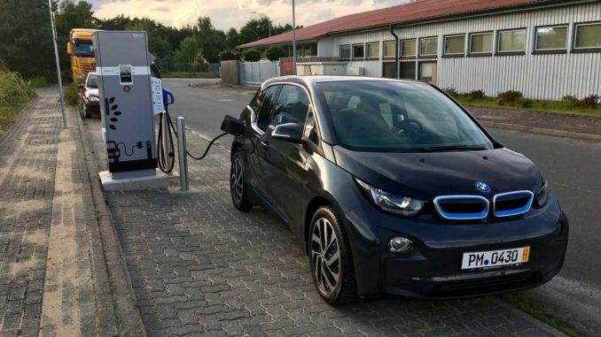 Autohof Neustadt Glewe Elektroauto aufladen