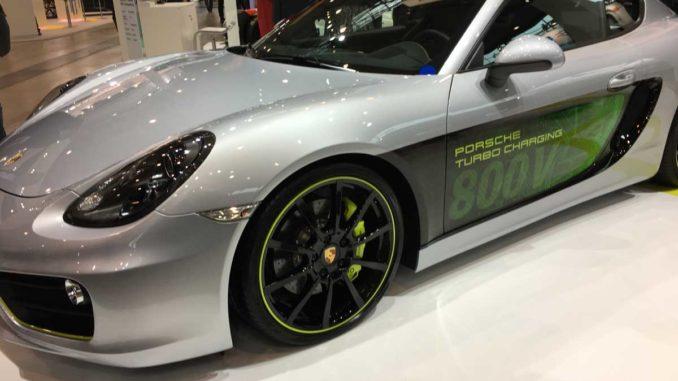 Porsche Cayman 800V Prototyp | Foto: 163 Grad