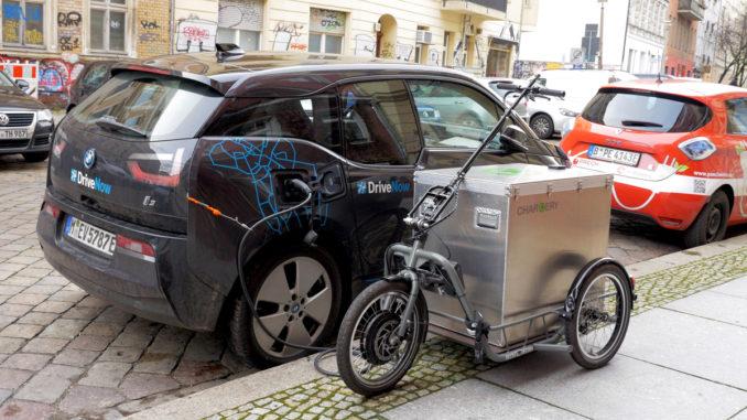 Chargery mobiler Ladeservice für Elektroautos | Foto: 163 Grad
