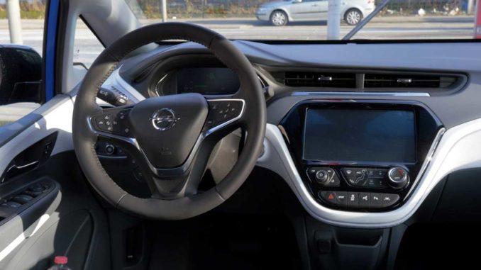 Opel Ampera e Cockpit | Foto: 163 Grad