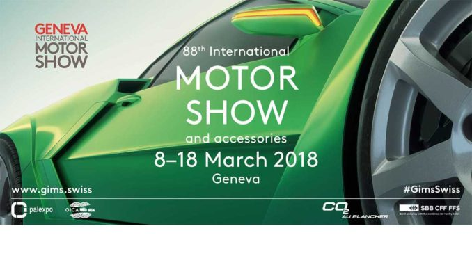 GIMS2018 | Foto: Internationaler Automobil-Salon Genf