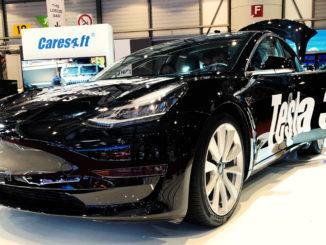 Tesla Model 3 in Genf   Foto: 163 Grad