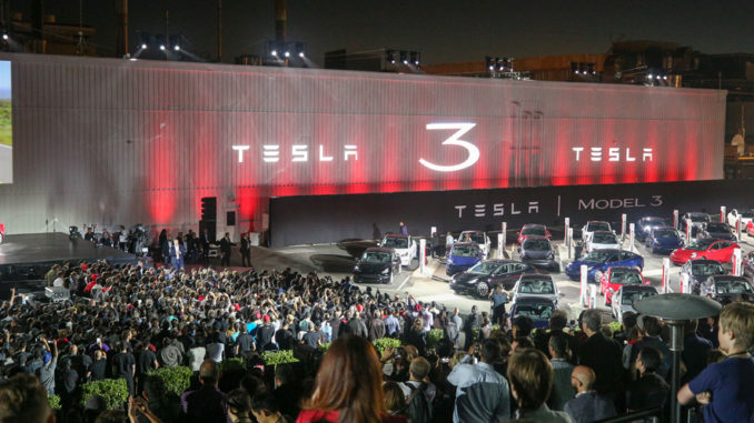 Tesla Model 3 Delivery Event | Foto: Tesla