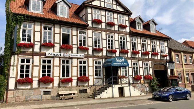 Nigel Restaurant & Hotel in Bergen   Foto: 163 Grad