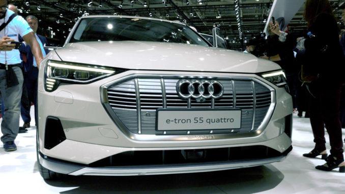 Audi e-tron 55 quattro | Foto: 163 Grad