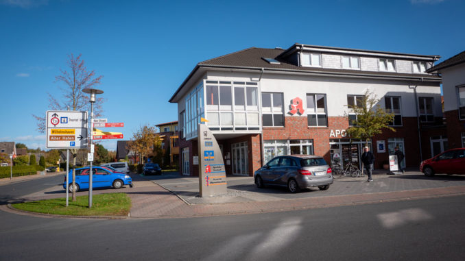 Apotheke Hooksiel Elektroauto Ladestation