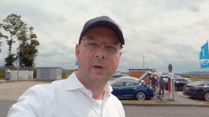 2019 Tesla Roadtrip Italien Episode 1 Hamburg Ulm | Foto: 163 Grad