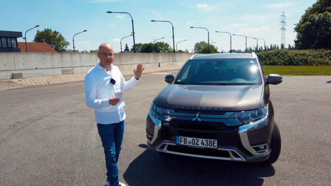 2019 Mitsubishi Outlander PHEV Test | Foto: 163 Grad