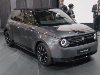 Honda e auf der IAA 2019 | Foto: 163 Grad