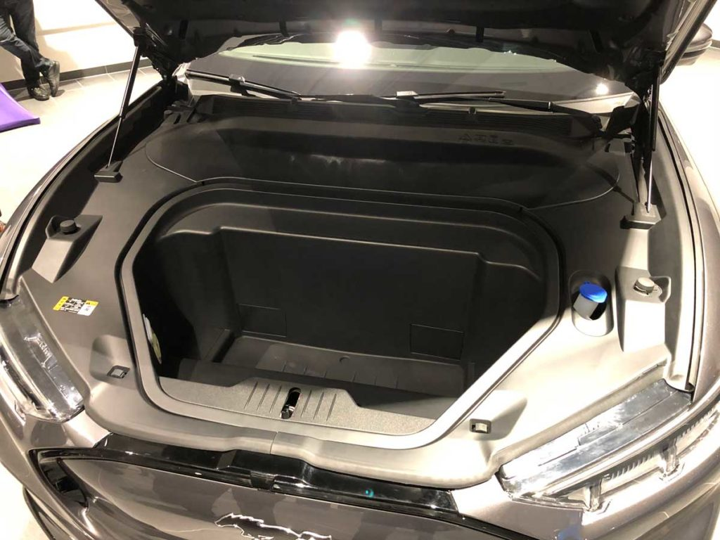 Ford Mustang Mach E Frunk | Foto: 163 Grad
