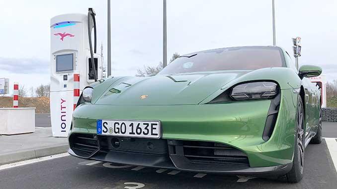 Porsche Taycan Turbo S Roadtrip Teil 1 | Foto: 163 Grad