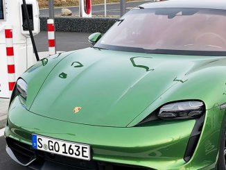 Porsche Taycan Test von 163 Grad | Foto: 163 Grad