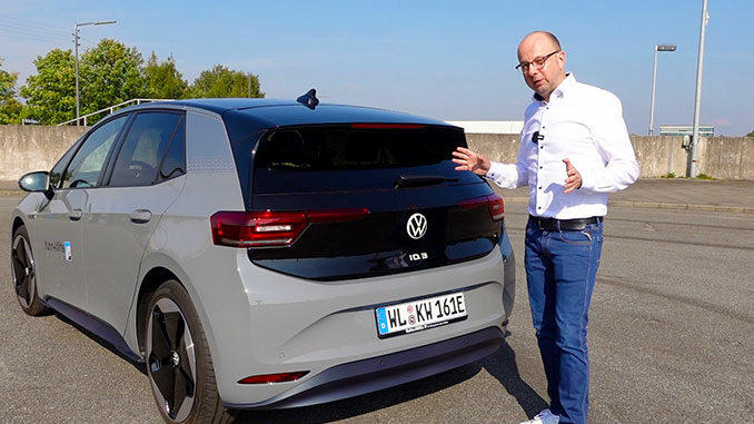 VW ID.3 First Edition Test von 163 Grad Hamburg