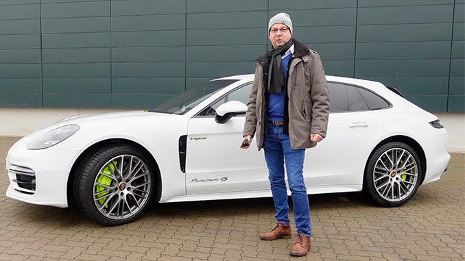 Porsche Panamera 4S Electric Sport Turismo | Foto: 163 Grad