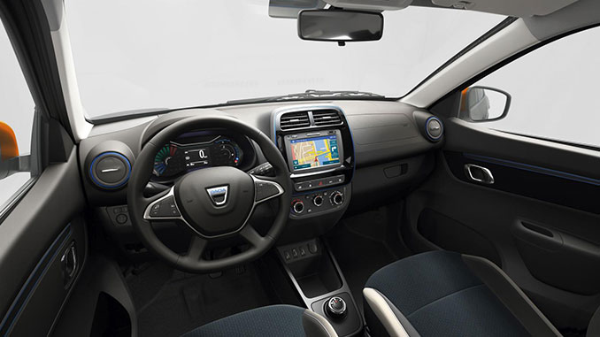 2021 Dacia Spring Electric Comfort | Foto: 163 Grad