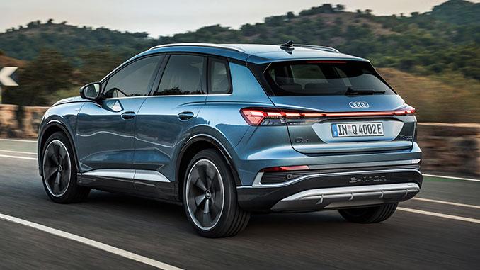 Audi Q4 e-tron 50 quattro   Foto: Audi AG