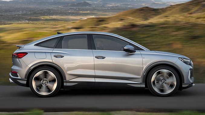 Audi e-tron Sportback   Foto: Audi AG