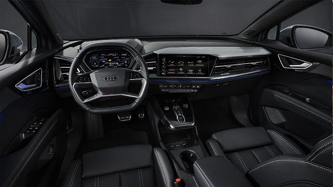 Audi e-tron Interieur   Foto: Audi AG