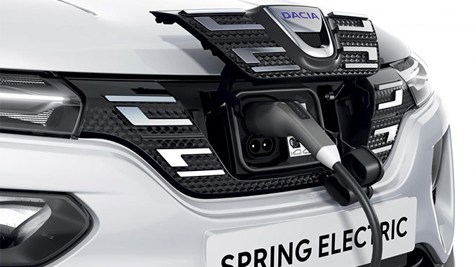 Dacia Spring Electric mit CCS | Foto: Dacia