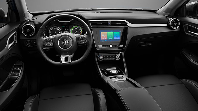 MG ZS EV Cockpit | Foto: SAIC Motor Europe B.V.