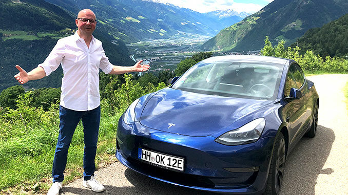 Urlaub mit dem Elektroauto   Foto: 163 Grad