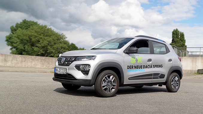 Dacia Spring Test 2021 | Foto: 163 Grad