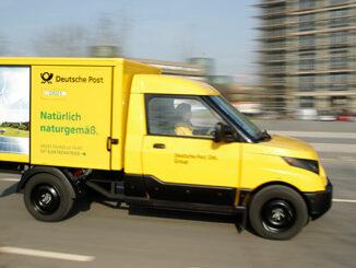 DHL Streetscooter im Einsatz | Foto: DHL