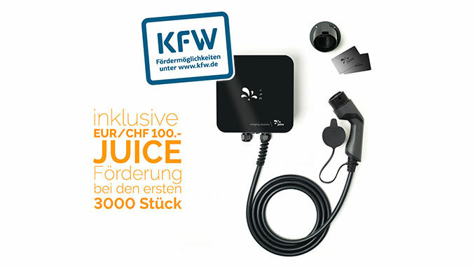 Juice Charger Me mit KFW 440 Förderung