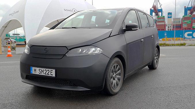 Sono Motors Sion Prototyp 2021 | Foto: 163 Grad